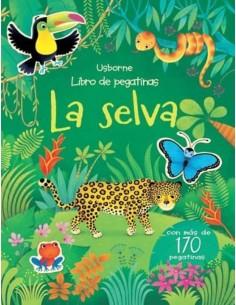 Libro Pegatinas - La Selva