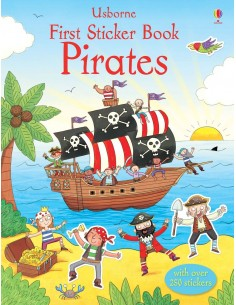 First Stickers Book Pirates