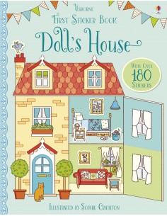 First Sticker Book Doll's...