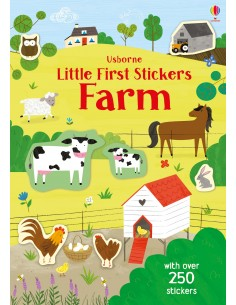 Little First Sticker Book Farm