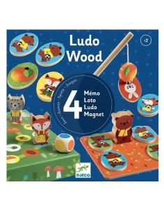 Juego educativo Ludo Wood