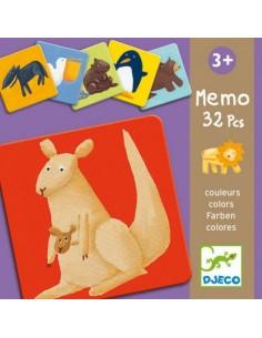 Memo Animales Colores
