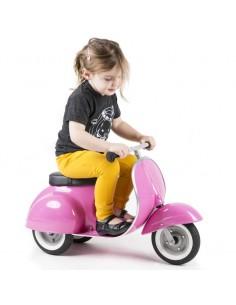 Scooter Vespa Rosa