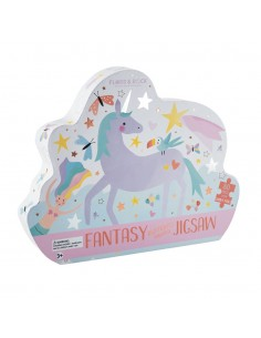 Puzle Unicornio 80 Piezas