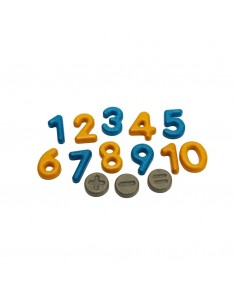 Numeros y Simbolos Madera
