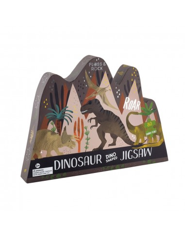 Puzle Dinosaurio 80 Piezas
