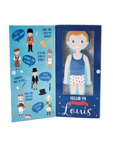 Muñeco Magnetico Vestidos Principe Louis