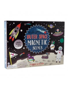 Juego Magnetico Espacio