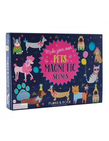 Juego Magnetico Mascotas