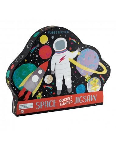 Puzle Espacio 80 Piezas
