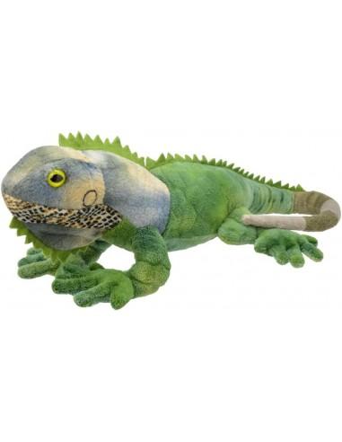 Peluche Iguana Verde 33 cms