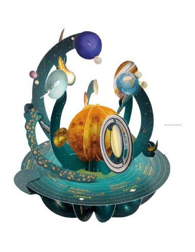 Postal 360º Sistema Solar