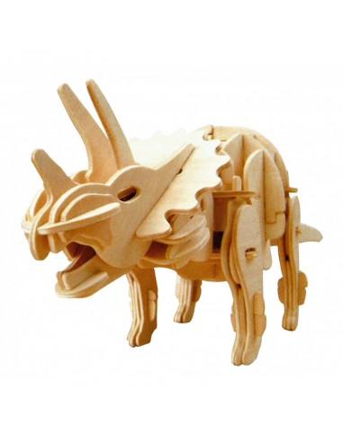 Kit Triceratops Madera Activado por voz
