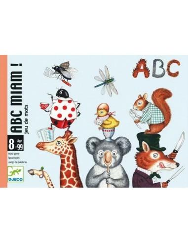 Juego de cartas ABC Miam