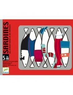 Juego de cartas Sardines