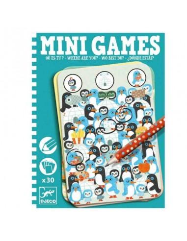 Mini Juegos - Donde estás?