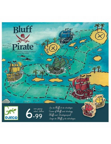 Juego Bluff Pirata