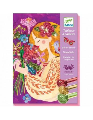 Cuadros de purpurina El Perfume de...