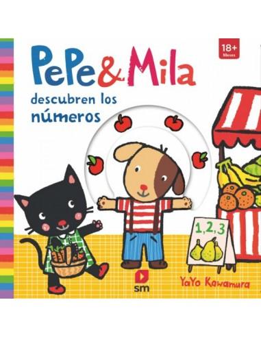 Pepe y Mila descubren los numeros