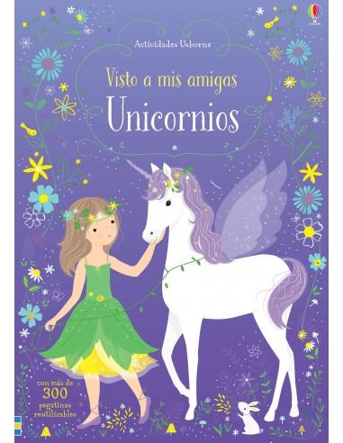 Visto a Unicornios - Libro de pegatinas