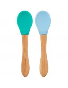 Set 2 Cucharas Verde/Azul