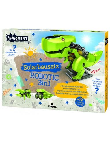 Construcción Solar Robotic 3 en 1