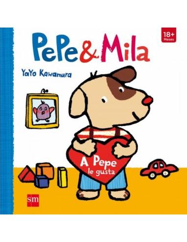 Pepe y Mila. A Pepe le gusta.