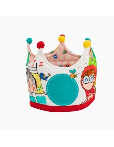 Corona Cumpleaños Personajes Caperucita