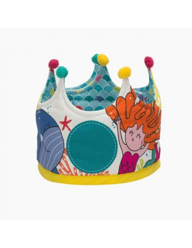 Corona Cumpleaños Personajes Sirenas