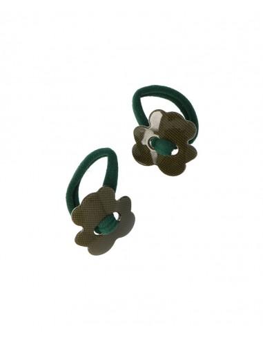 Pack de 2 gomas elasticas Osito Verde...
