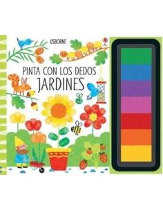 Pinta con los dedos - Jardines