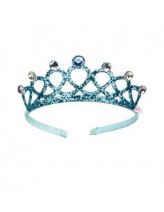 Diadema Corona Emy Azul