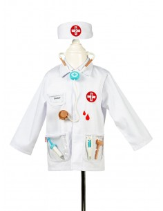Disfraz Medico 4-7 Años