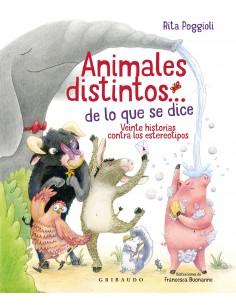 Animales distintos... de lo...