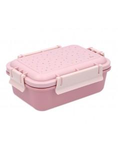 Caja Almuerzo Bento Dots Rosa