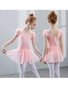 Malla con falda Ballet Rosa