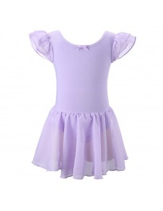 Malla con falda Ballet Lila