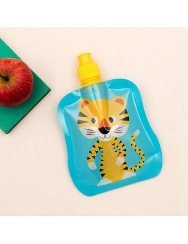 Botella Plegable Tigre