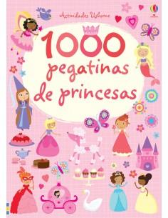 1000 pegatinas de princesas