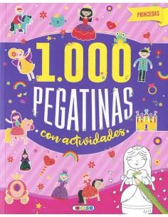 Princesas 1.000 pegatinas...