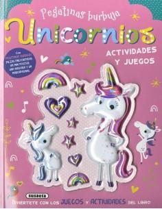 Unicornios (Pegatinas burbuja)
