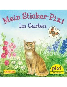 Mein Sticker-Pixi - Im Garten