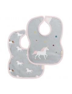 Pack 2 Baberos Unicornios