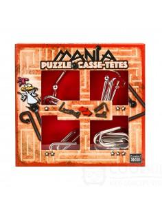 Puzzle Mania Casse-têtes Rojo