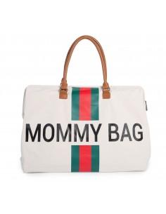 Bolso Mommy Bag Franjas...