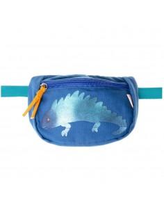 Riñonera Azul Iguana