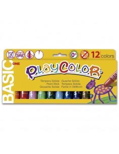 Temperas Solidas 12 Colores